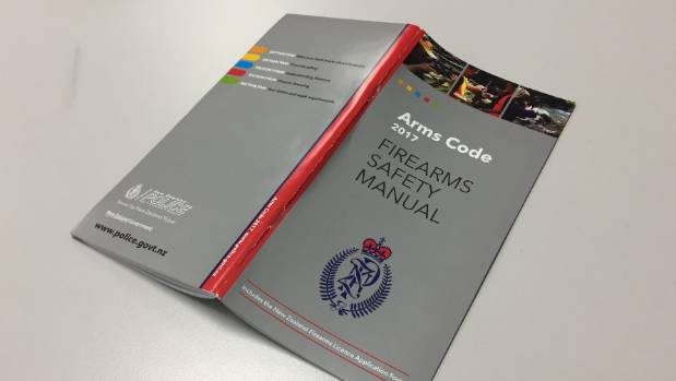 """Police have continued to hand out an """"incorrect"""" booklet version of the Arms Code over the counter at stations despite ..."""