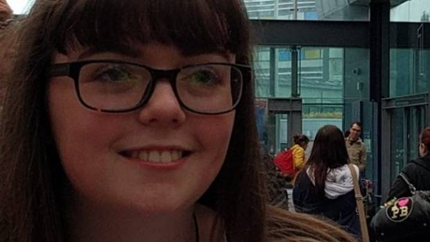 Georgina Callander, 18, was one of the 22 people killed at the concert attack.
