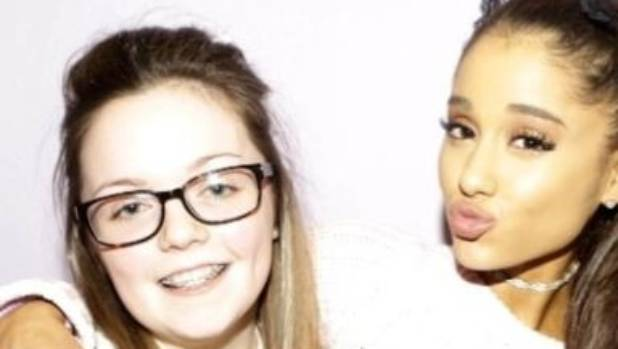 Georgina Callander, 18, a victim of the suicide bombing at an Ariana Grande concert in Manchester, posted a picture of ...