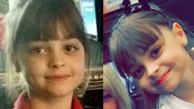 Eight-year-old Saffie Rose Roussos has been confirmed as one of the 22 killed in the Manchester Arena bombing.