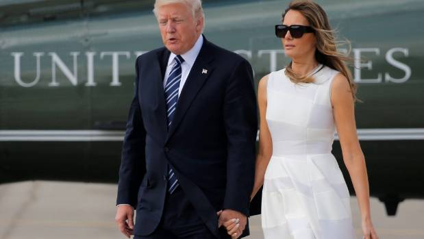 Melania Trump appears to slap away president's hand in Israel