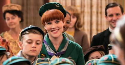 Emerald Fennell plays Patsy Mount in Call The Midwife.