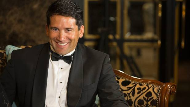 New Zealander of the year 2014 Dr Lance O'Sullivan, who took to the stage at the screening of the movie Vaxxed to ...