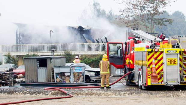 Elderly man's house burns down after fireplace ashes spark blaze ...