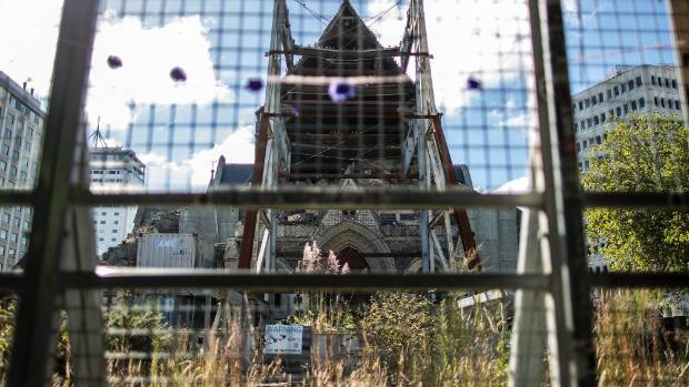 Christ Church Cathedral is understood to be one of about 30 derelict buildings the Christchurch City Council has ...