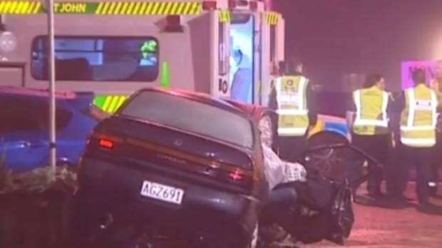Police and ambulance responded to the crash in the early hours of Thursday morning.