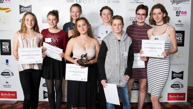 The team of eight from Wellington High School were awarded Supreme Winner for 2017 for the Roxy5 Short Film Competition.