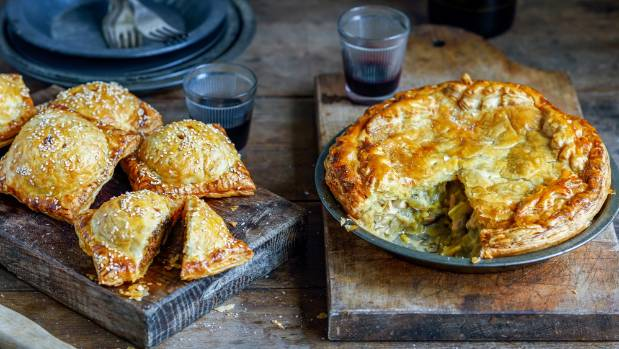 The Epitome Of Hearty Warming Winter Food Lamb Mini Pies And Chicken And Leek