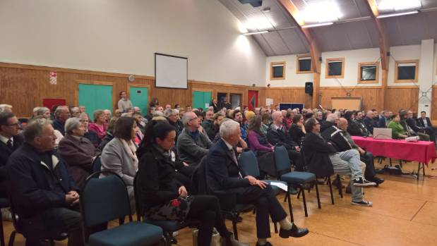 More than 250 people filled the Johnsonville Community Centre for a public meeting on Wednesday night about the ...