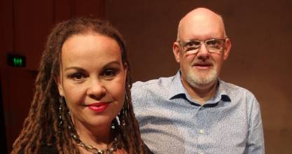 Jennine Bailey  and Tom Rainey were among the impressive performers at Wednesday night's The Bacharach Years concert.