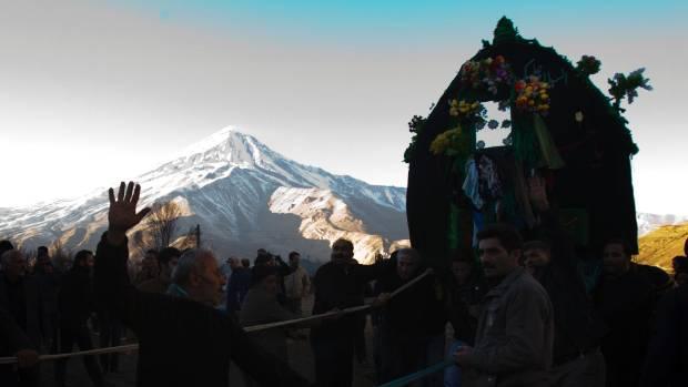 Mount Damavand is Iran's highest peak.