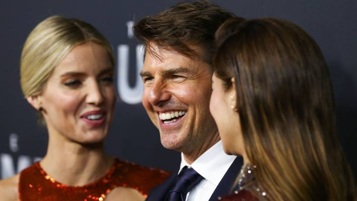 Annabelle Wallis Tom Cruise And Sofia Boutella Arrive Ahead Of The Mummy Australian Premiere In