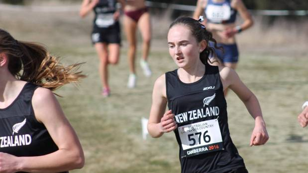Bridie Edwards finished fifth place at the New Zealand secondary schools cross country championships.