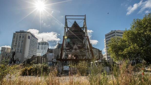 The Christ Church Cathedral is on a list of sites identified by the Christchurch City Council as being a barrier to the ...