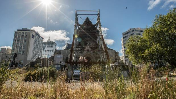 Government figures put the Anglican church's repair estimate for Christ Church Cathedral as $20m too high.