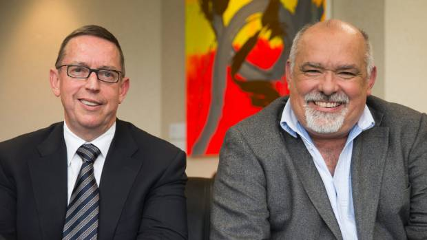 The University of Waikato and Waikato DHB have handed Government a bid for a Waikato medical school. Pictured from left ...