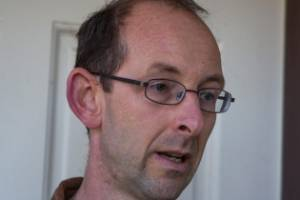 David Bain at his home in Christchurch after the Government's compensation announcement.