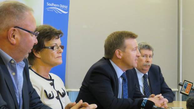 Extra funding for the Southern District Health Board