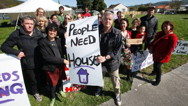 While Housing NZ pays the Government dividends . . .