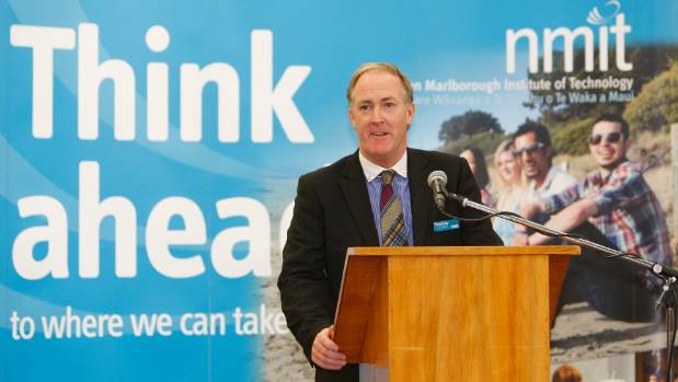 Nelson Marlborough Institute of Technology CEO Tony Gray has resigned.