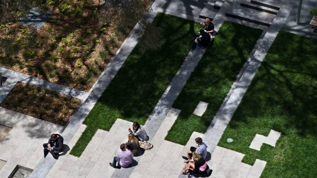The St Patrick's Square project was awarded a Gold Award in the Landscape Design Category, and the NZILA George Malcolm ...