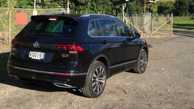 Black Golf R >> Fast-forward for Volkswagen's turbocharged Tiguan R-Line SUV | Stuff.co.nz