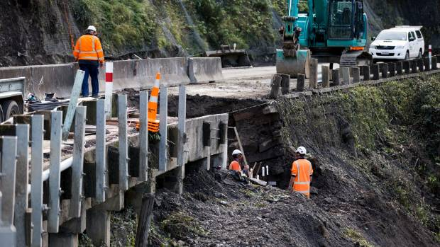 It is unclear when the Manawatu Gorge is going to reopen after a slip in the road slowed down repairs.