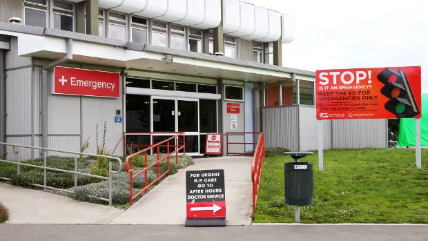 """Mental health patients are """"pouring into"""" the emergency department at Wairau Hospital in Blenheim."""