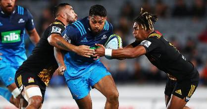 The Blues and Chiefs went toe-to-toe at Eden Park on Friday night.