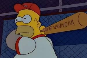 Homer Simpson: Baseball icon.