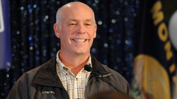 Body-slamming GOP House candidate wins Montana's special election