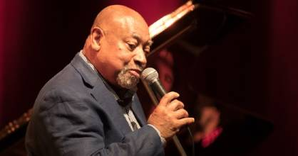 Friday night's concert and the ensemble revolved around the supreme talent of Kenny Barron.