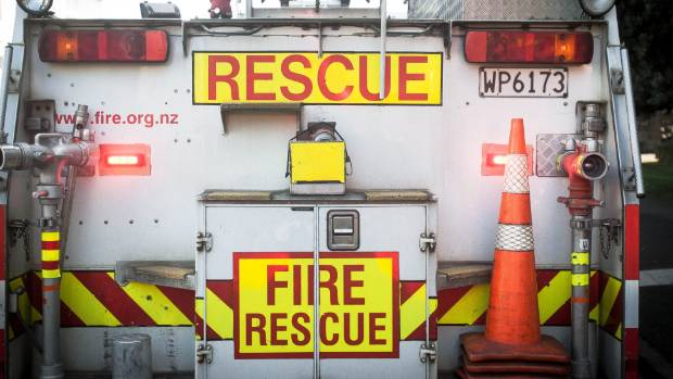 Fire crews were called to the crash site on SH27 near Horrell Rd on Sunday (file photo).