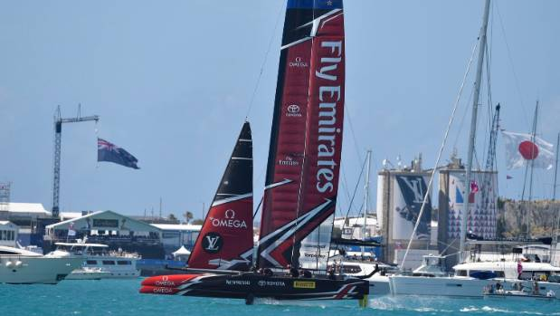 First defeat for US , but America's Cup holders still in control