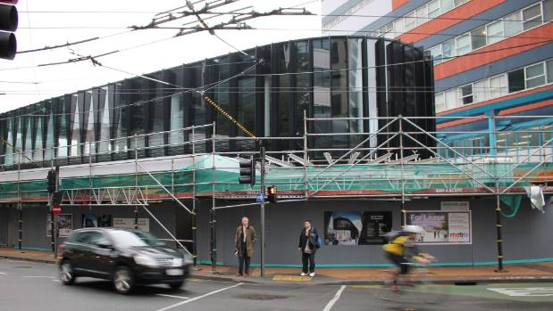 The multi-facade, two-storey complex on the corner of Victoria and Manners Streets, is due to open in June, complete ...