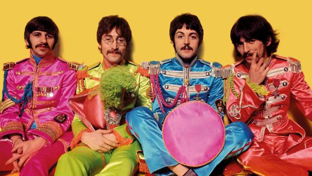 """In June 1967, Sgt. Pepper embodied the hippie idealism of the """"Summer of Love""""."""