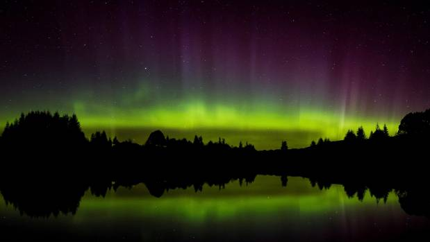 Te Anau resident Chris Watson captured this stunning panorama from the Ivon Wilson Park on the outskirts of the town.