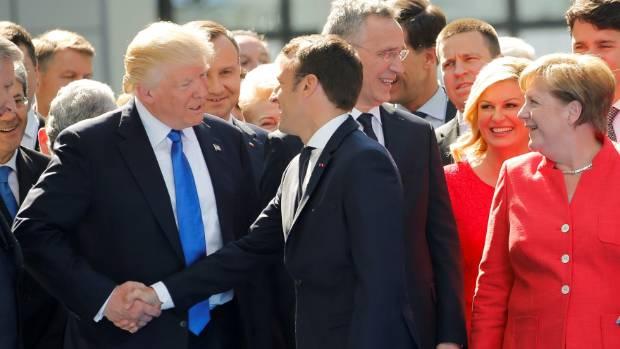 Trump's cellphone diplomacy raises security concerns