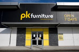 Palmerston North's PK Furniture will continue to trade, but will be limited to the stock on site unless a significant ...