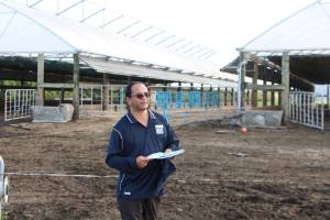 Feedpads and animal housing are options for protecting soil physical structure over wet periods. Bala Tikkisetty says.