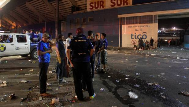 Two dead in stampede at football stadium in Honduras