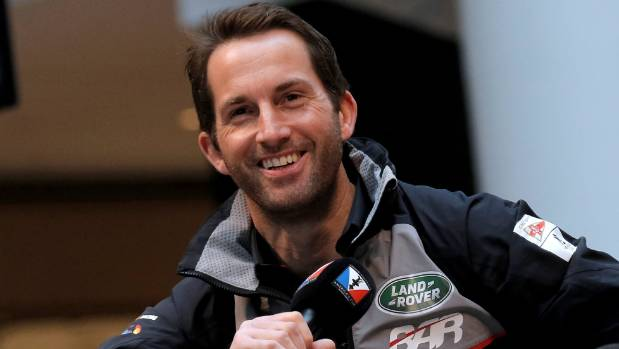 BAR skipper Sir Ben Ainslie.