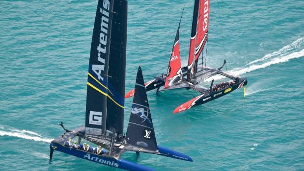 Controversial win for Team NZ