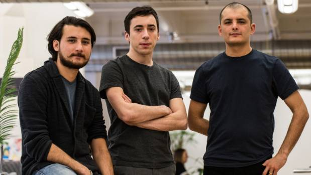 Magpie co-founders Calum Handley, Raul Oaida, and Derek Handley see a massive opportunity in tracking devices.