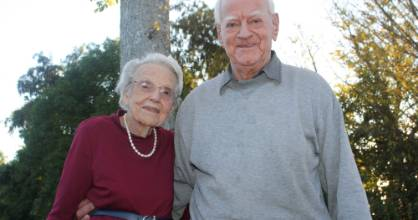 Jean and Roy Barton are looking forward to their 70th wedding anniversary next month.