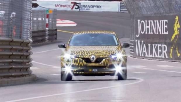 Renault Megane RS Previewed In Monaco