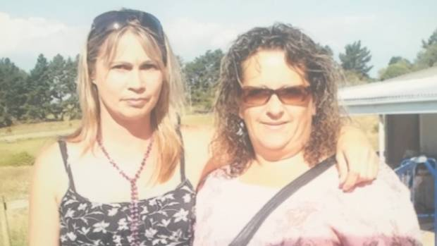 Deanna Trevarthen with sister-in-law Angela Calver, who has taken up the fight for compensation in the wake of ...