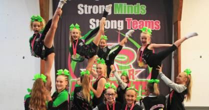 All Star Infinity Cheerleaders were celebrating victory in Hawaii last week.