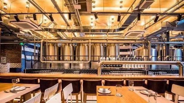 Goose Island Brewhouse recently opened in Shanghai.