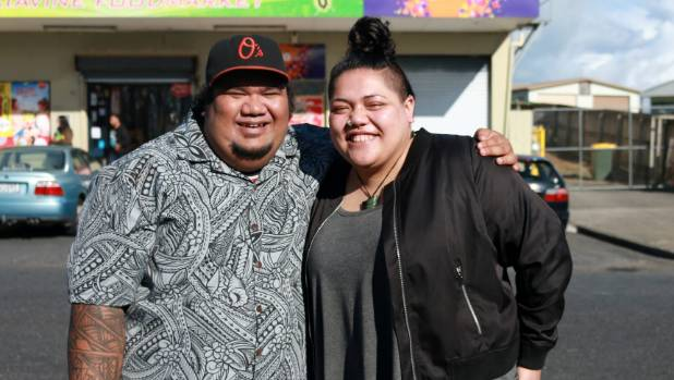 Samuel Kamu, left, and Amberley Jo Aumua created a movie selected to screen as part of this year's NZ International Film ...